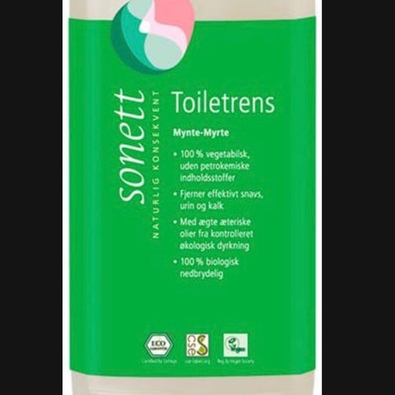 Image of Sonett toiletrens : mynte - myrte 750 ml