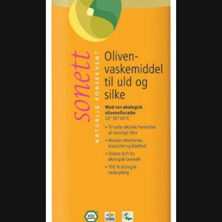 Image of Sonett vaskemiddel uld/silke oliven og lavendel eller neutral- 1 ltr.