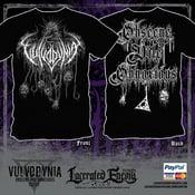 Image of VULVODYNIA - Obscene, Vile & Obnoxious - Tshirt 2018 (Grey)