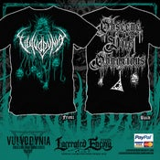 Image of VULVODYNIA - Obscene, Vile & Obnoxious - Tshirt 2018 - (Turquoise)