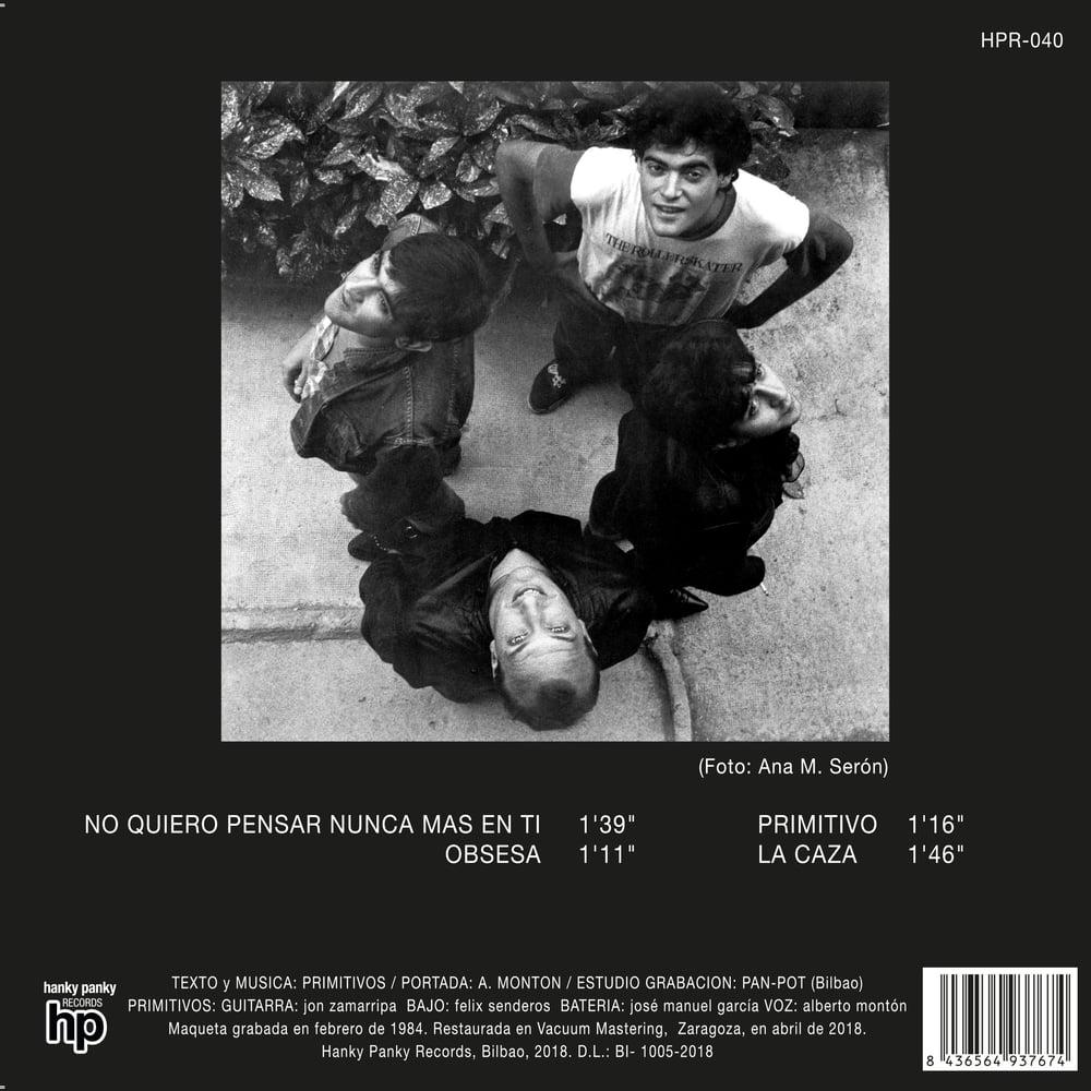 """Image of Primitivos - La Caza (7"""" EP + fanzine)"""