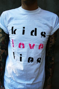 Image of Kids Love Lies t shirt