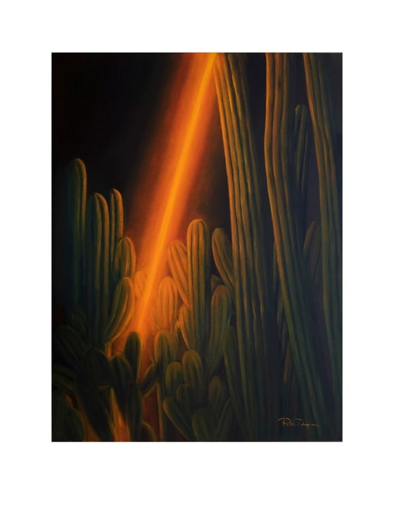 Image of California (Limited edition 15 Art Print) (#Fluorestasaga)