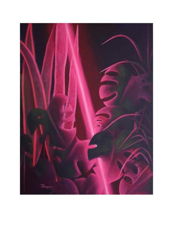 Image of Rosa Tropical (Limited edition 15 Art Print) (#Fluorestasaga)