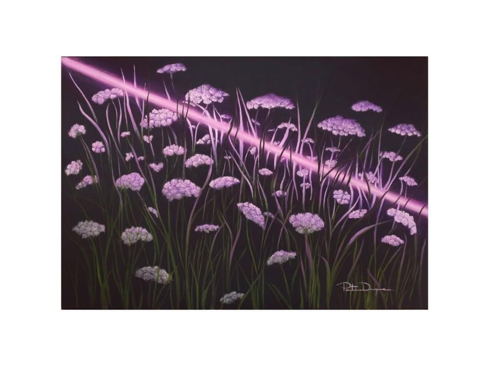 Image of Púrpura Silvestre (Limited edition 15 Art Print) (#Fluorestasaga)