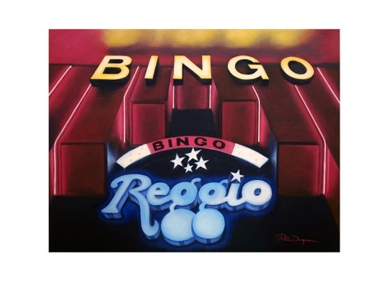 Image of Bingo Reggio (Limited edition 15 Art Print)
