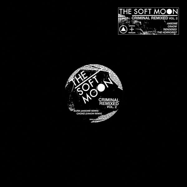 Image of [a+w XXXVIII] / [SBR216] The Soft Moon - Criminal Remixed Vol. 2 12""