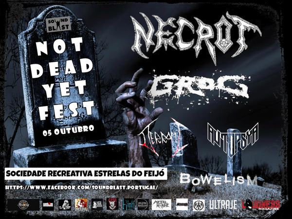 Image of Not Dead Yet Fest - 05 October