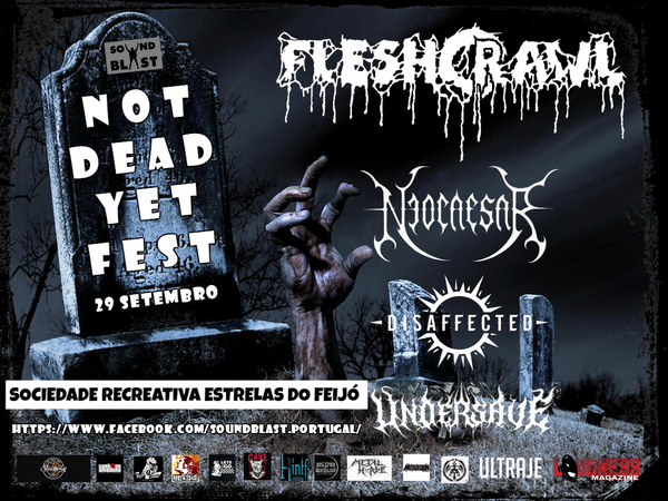 Image of Not Dead Yet Fest - 29 September