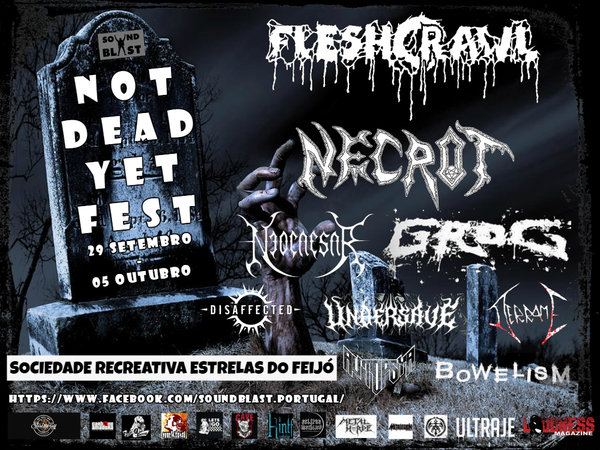 Image of Not Dead Yet Fest - 2 days ticket
