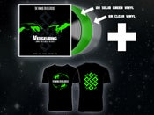 "Image of V-bundle 4: Vergelding vinyl + shirt ""knot"""