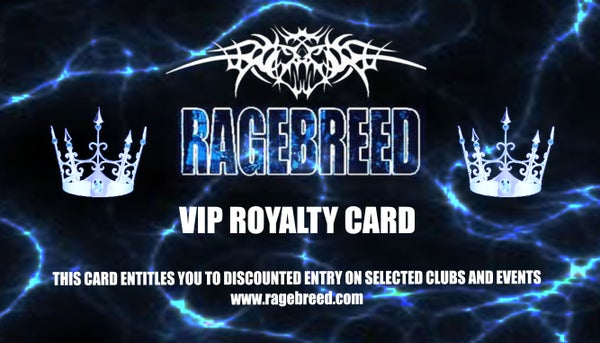Image of RAGEBREED ROYALTY CARD