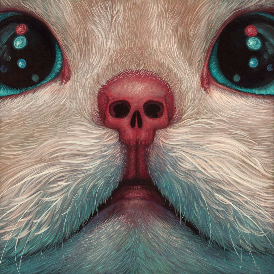 "Image of ""Toxoplasmosis"" <br>Rare Print <br>by Casey Weldon"