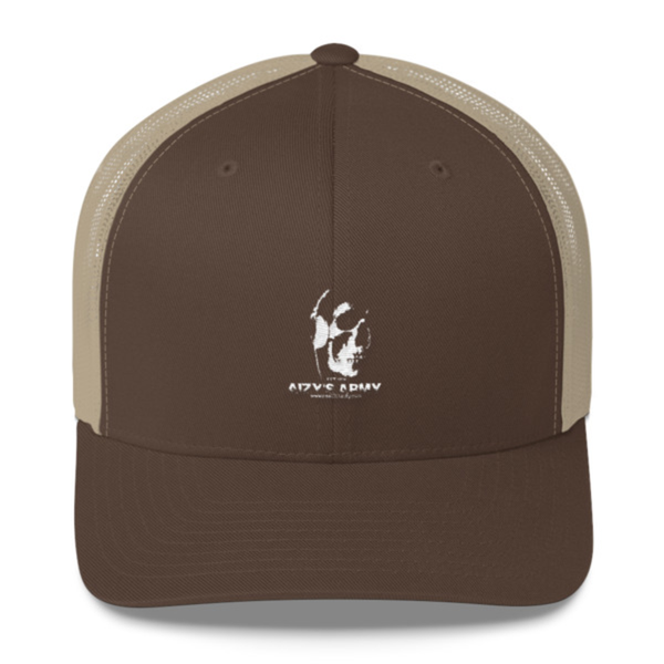 Image of AIZY'S ARMY TRUCKER HAT