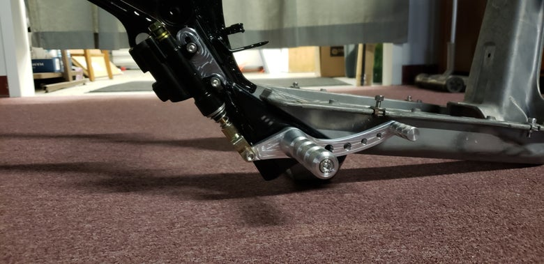 "Image of Honda Ruckus Foot Brake ""Disc"" with A Zen Style"
