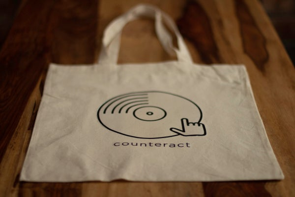 Image of Counteract 100% Cotton Tote Bag