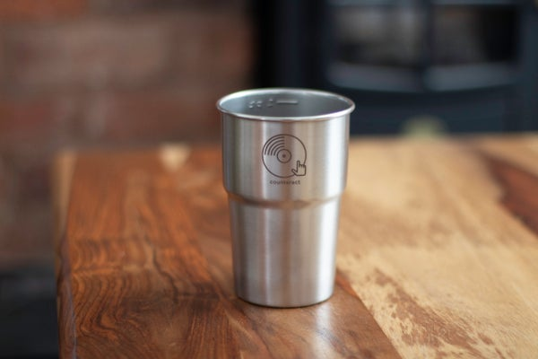 Image of Counteract Reusable Stainless Steel Cup