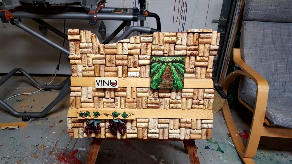 Image of Oregon signs - Vino!