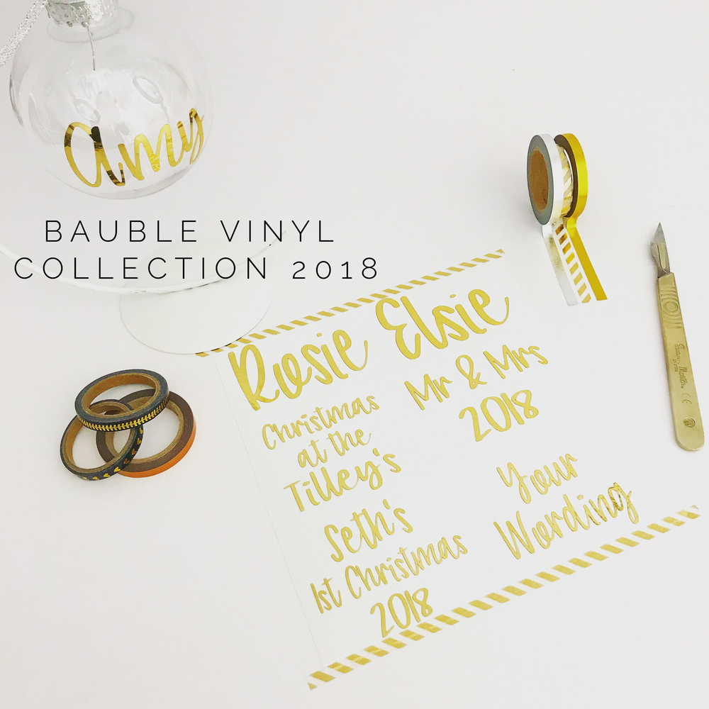 Image of Bauble Vinyls 2018