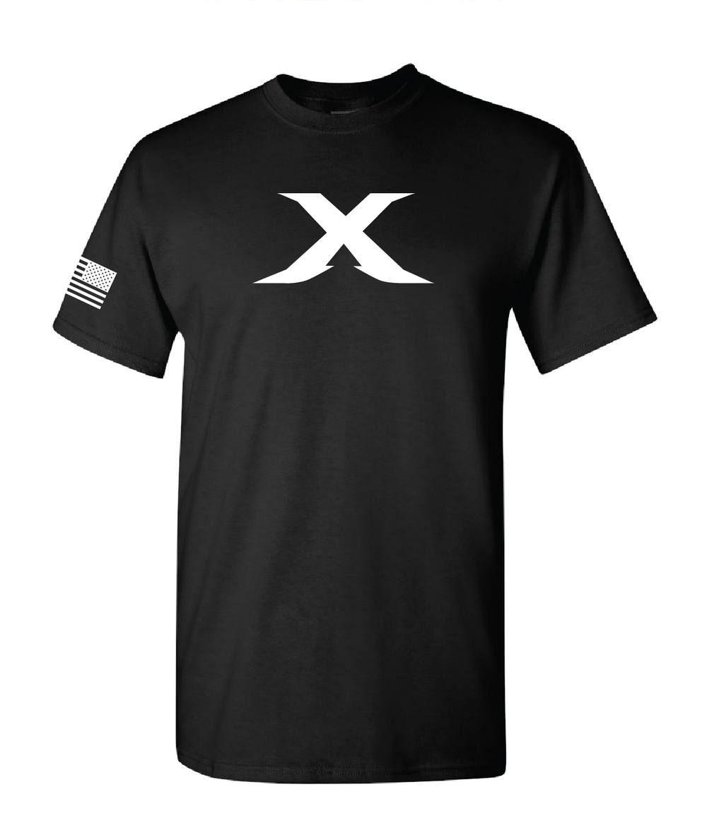 "Image of Limited Edition: The ""X"" Tee - BLACK"