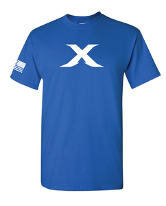 "Image of Limited Edition: The ""X"" Tee - BLUE"