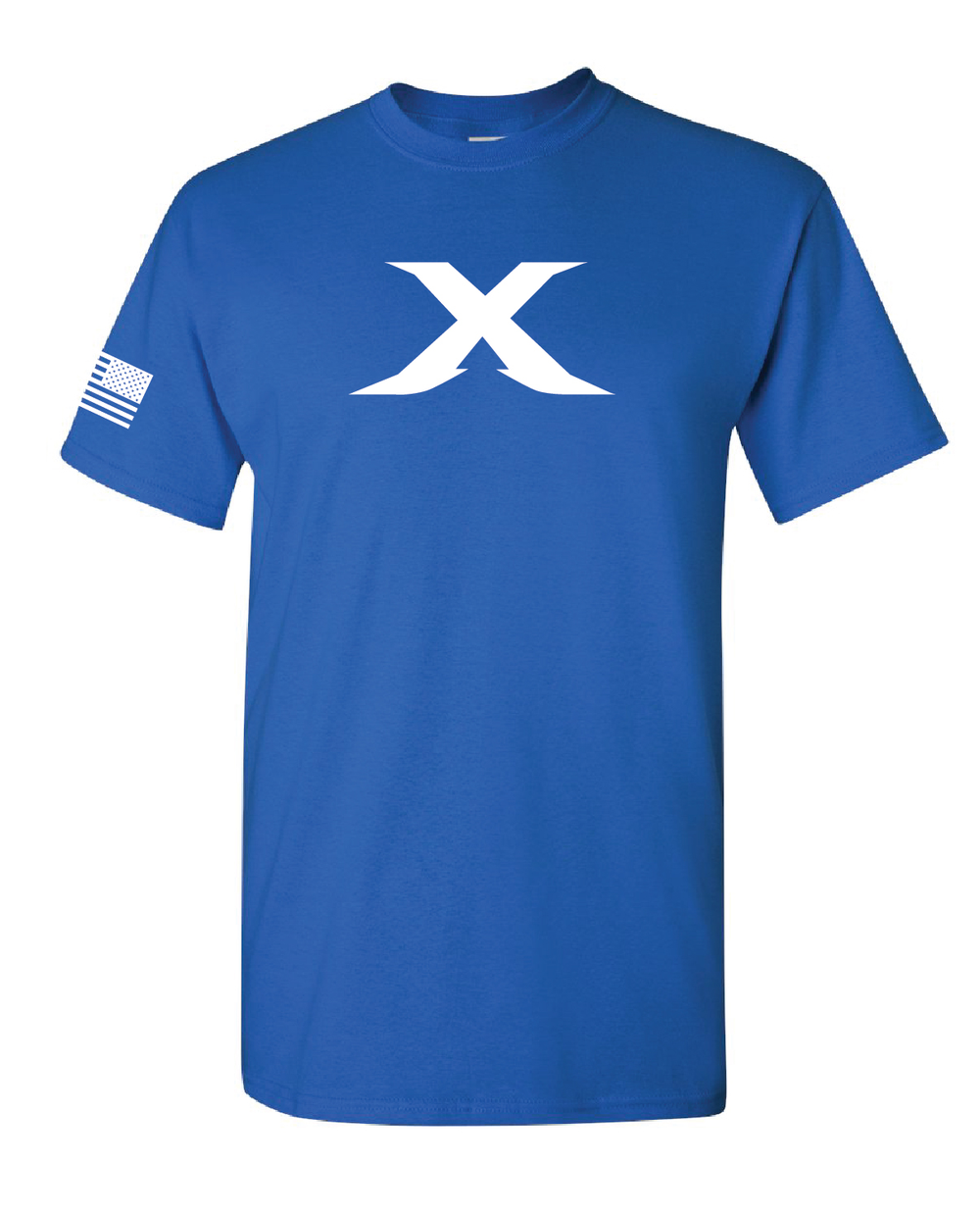 "Image of The ""X"" Line - BLUE/WHITE"