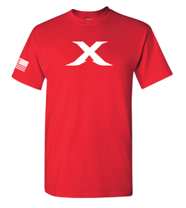 "Image of Limited Edition: The ""X"" Tee - RED"