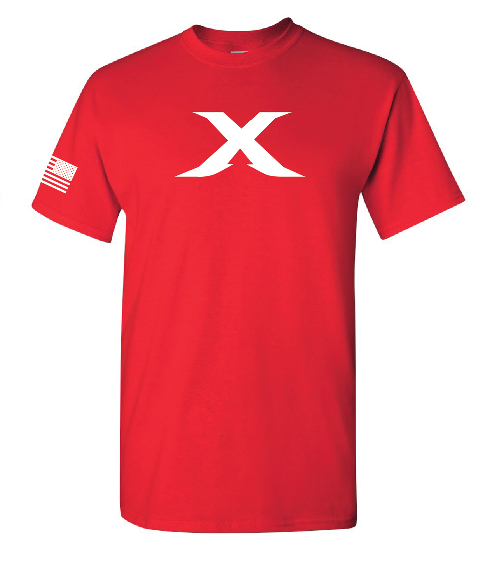 """Image of Limited Edition: The """"X"""" Tee - RED"""
