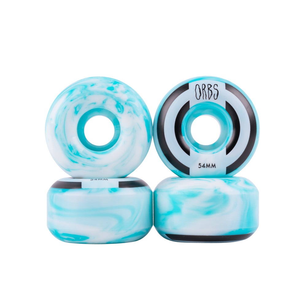 Image of Apparitions Swirls - 54mm - Blue/White