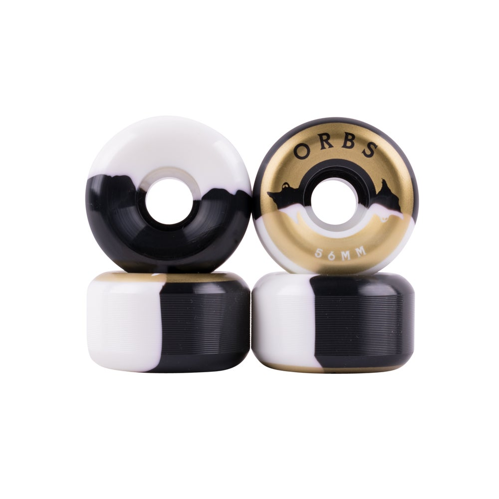 Image of Specters Splits - 56mm - Black/White