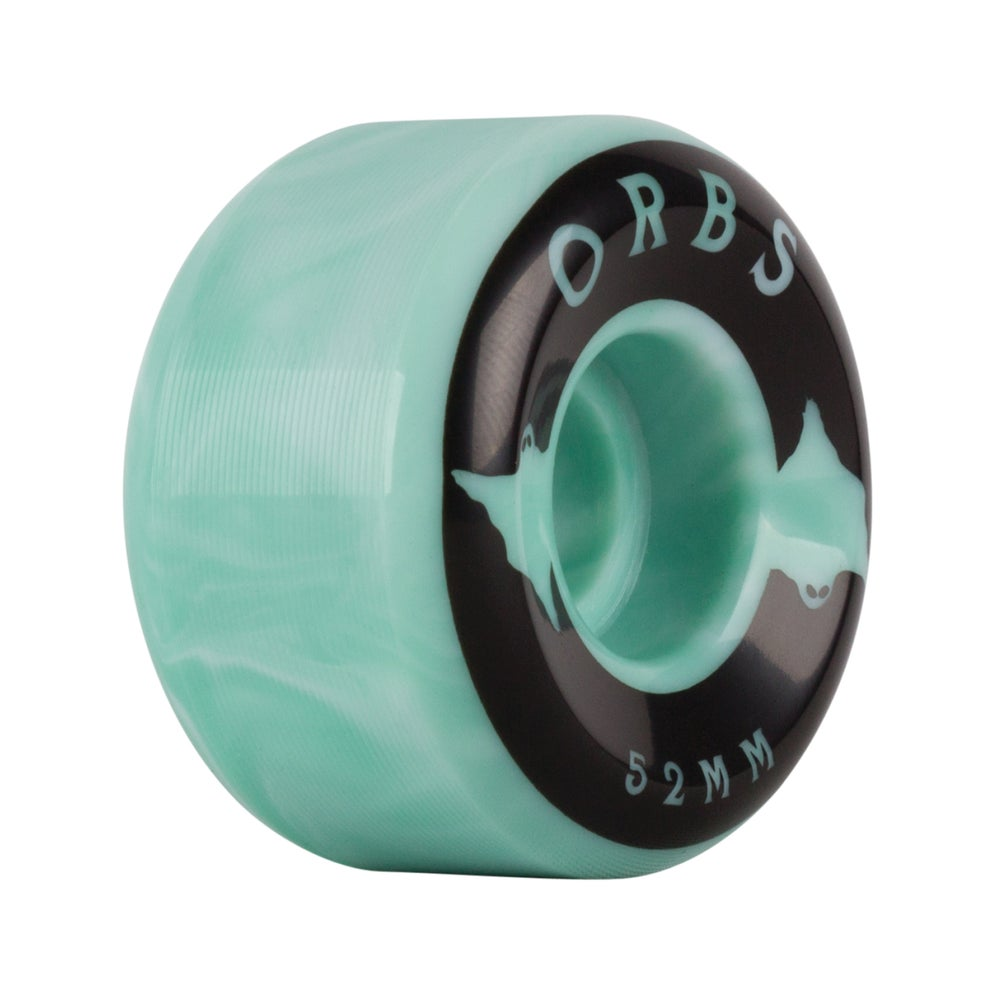 Image of Specters Swirls - 52mm - Mint/White