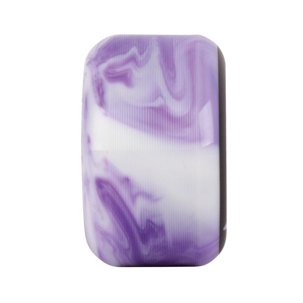 Image of Specters Swirls - 54mm - Purple/White