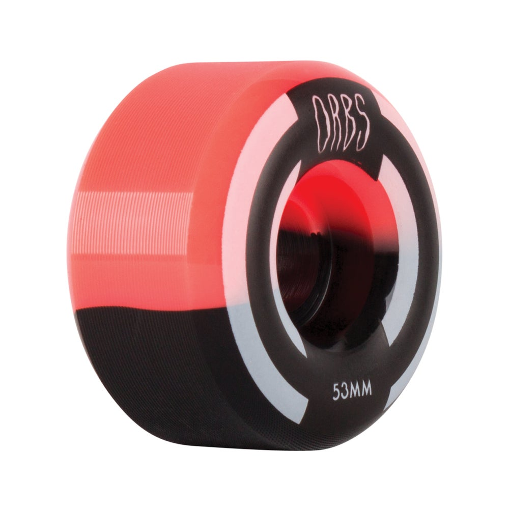 Image of Apparitions Splits - 53mm - Neon Coral/Black
