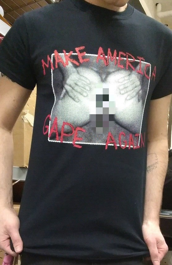 Image of Make America Gape Again (black)