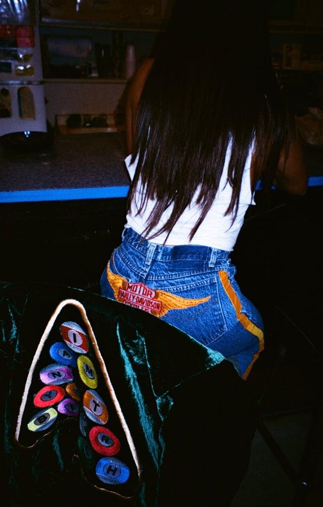 Image of Custom Vintage Distressed Jeans