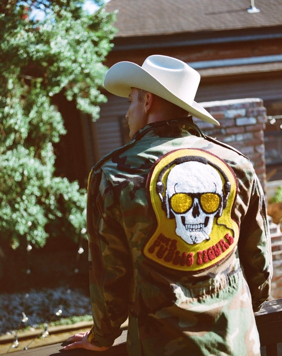 Image of Camo Statement Jacket