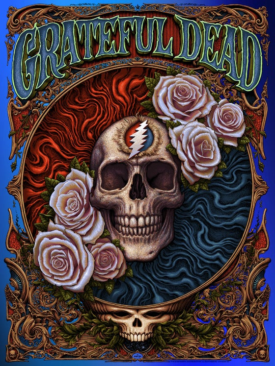 Image of Grateful Dead Blue Mirri Foil