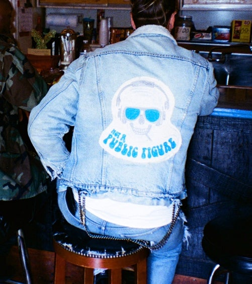 Image of Cowboy Turquoise Denim Jacket