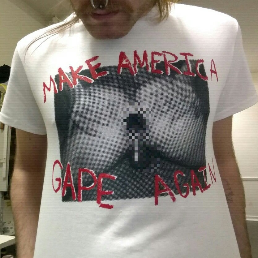 Image of Make America Gape Again (White)