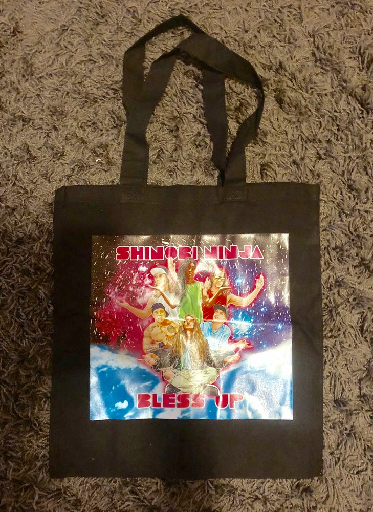 Image of Shinobi Ninja Bless Up Logo Tote Bag (Limited Edition)