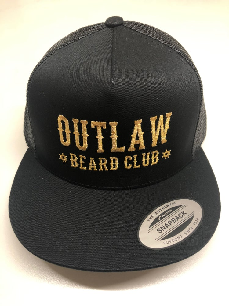 Image of OUTLAW BEARD CLUB MESH SNAPBACK