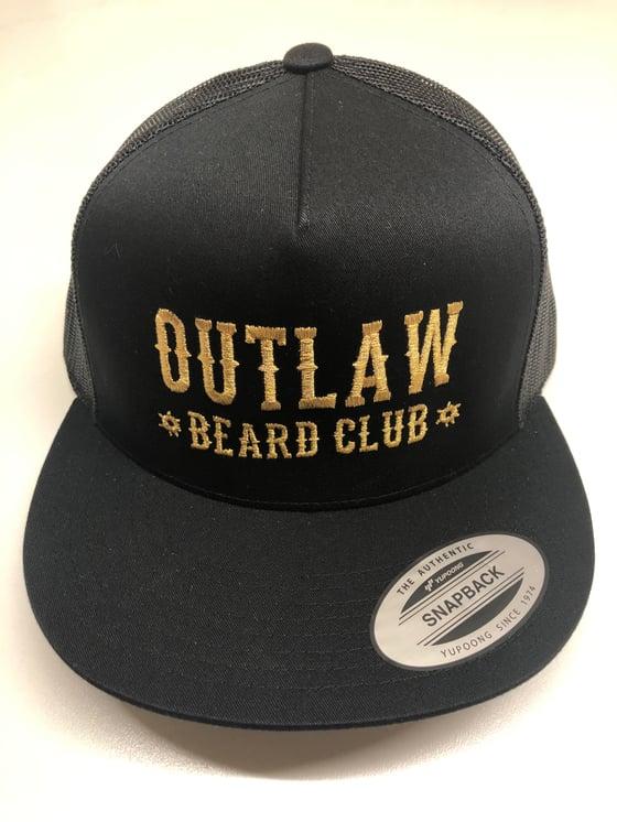 Image of OUTLAW BEARD CLUB MESH SNAPBACK