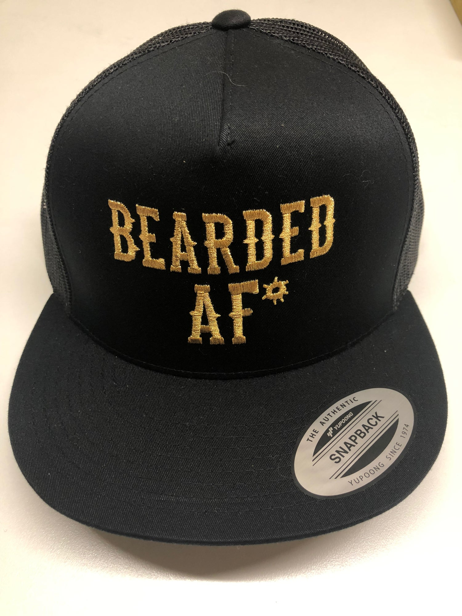 Image of BEARDED AF* MESH SNAPBACK