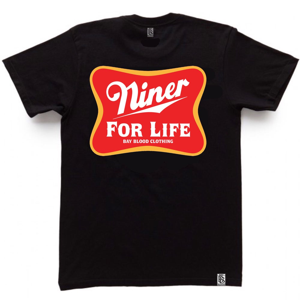 Image of NINER FOR LIFE (black)