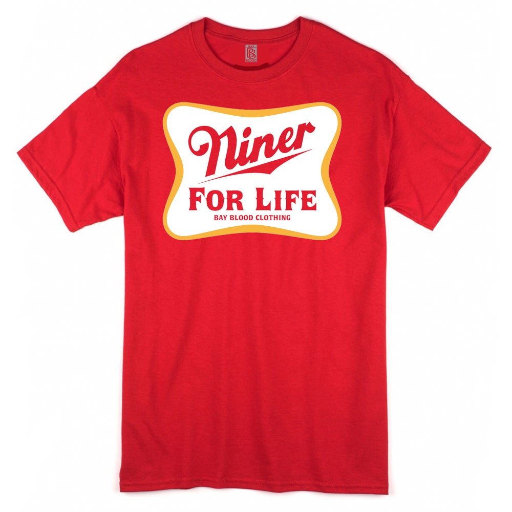 Image of NINER FOR LIFE (red)