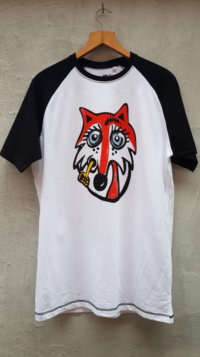 Image of Muggen ræv raglan T-shirt