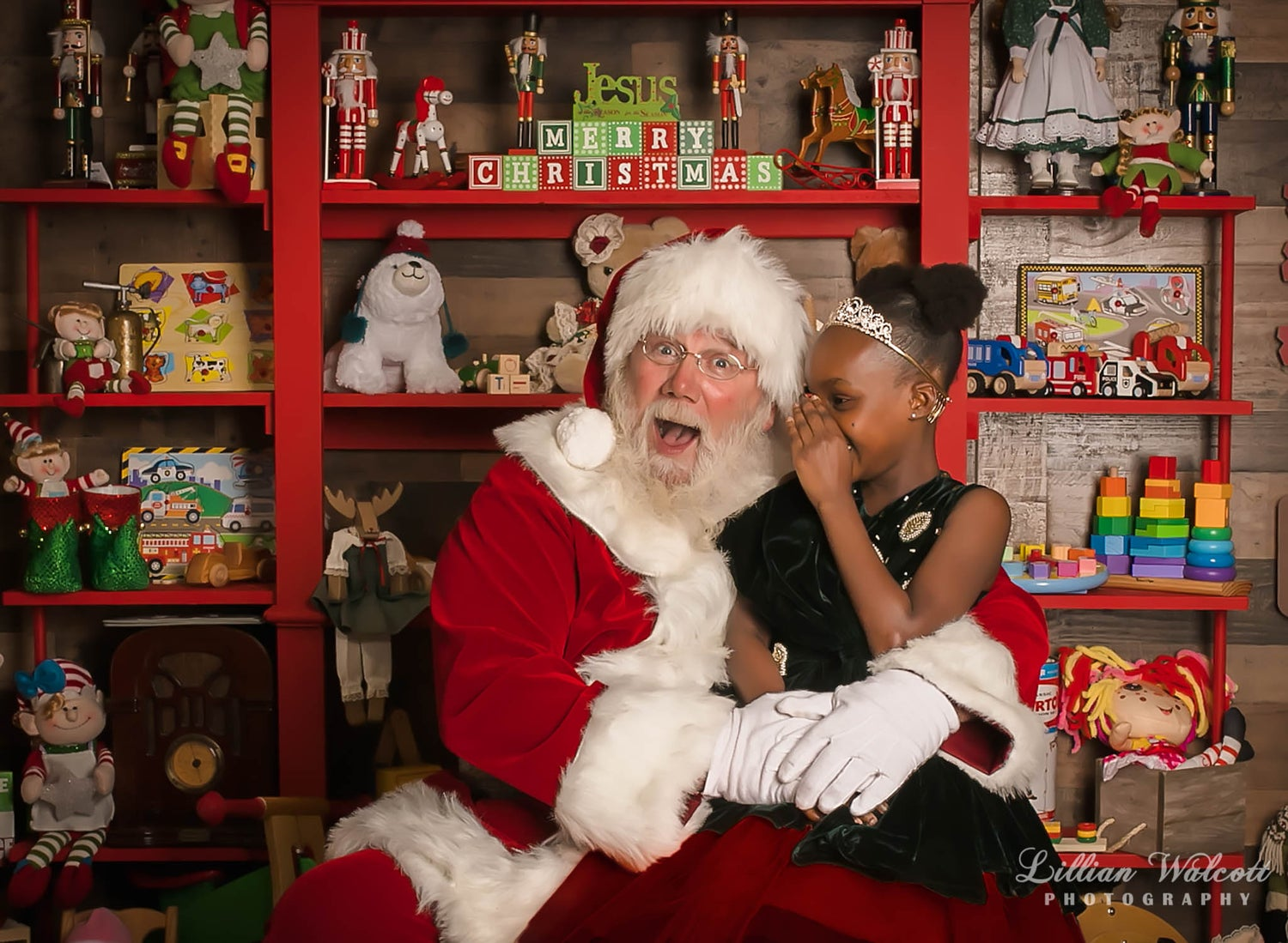 Image of Traditional Santa Mini Session