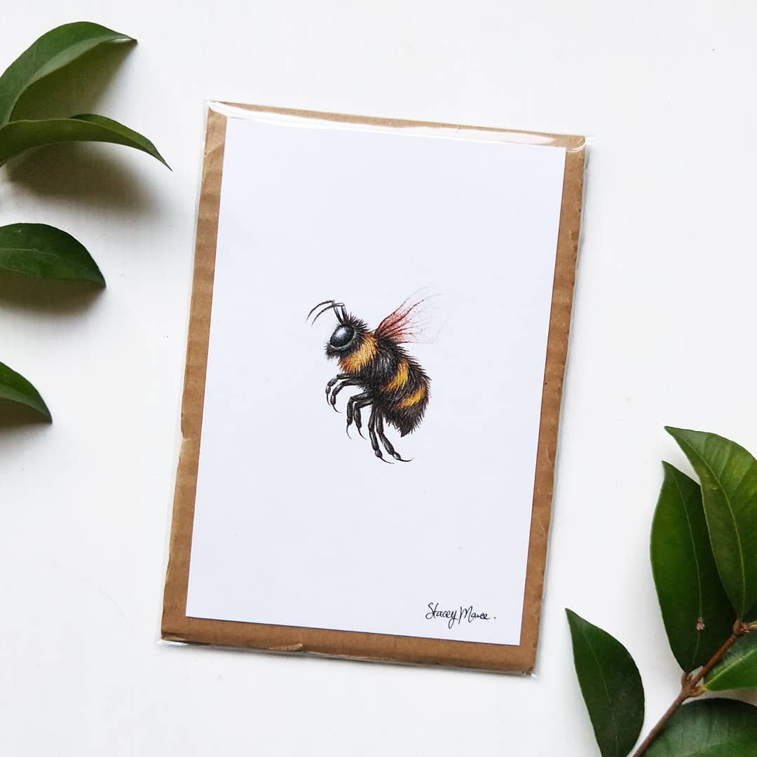 Image of Bumble Bee - Art Print