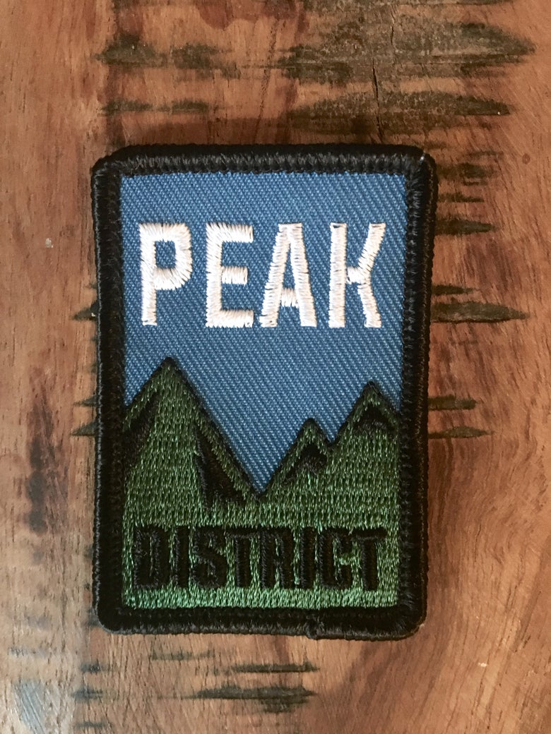 Image of Peak District patch