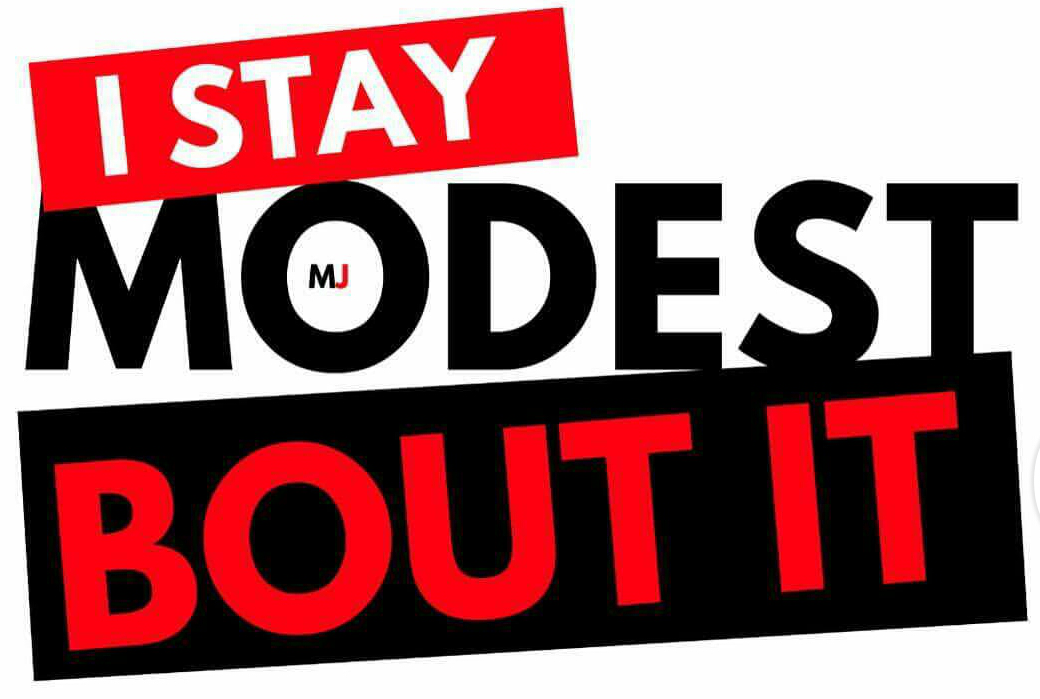 "Image of Modest Jones ""I Stay Modest Bout It"" T-shirt"